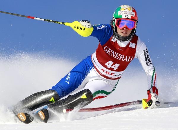SKI ALPIN - FIS WC Aare, Super-Kombination, Damen