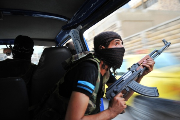 Syrian rebels hunt for snipers after att