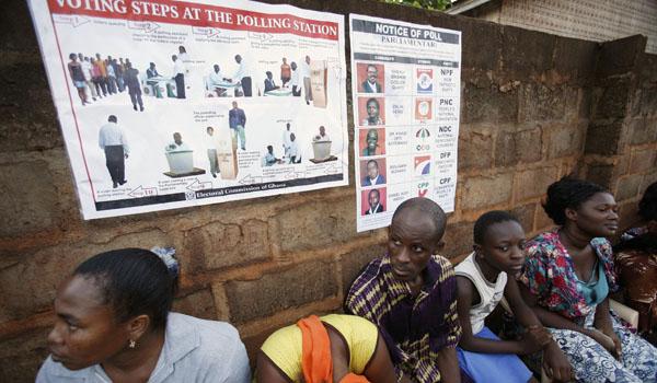 APTOPIX GHANA ELECTION