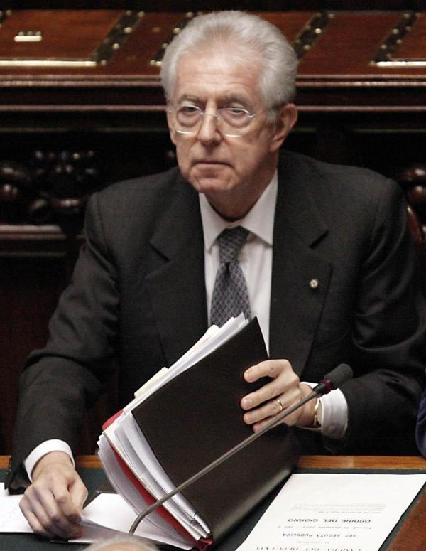 MONTI PONE BASI RIFORMA LAVORO E VOLA A BRUXELLES PER VERTICE