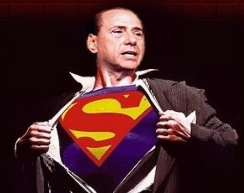 berlusconi-superman