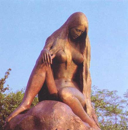 Loreley-Statue