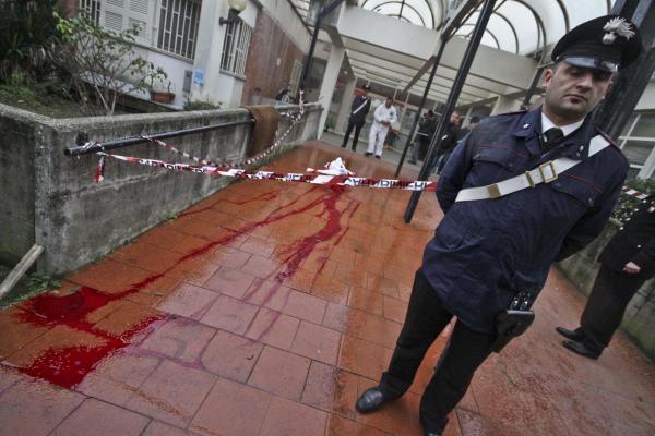 Man shot to death in elementary-school courtyard in Naples