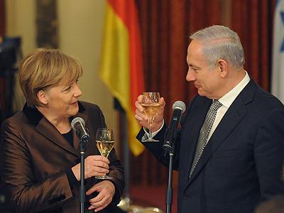 Netanyahu-merkel