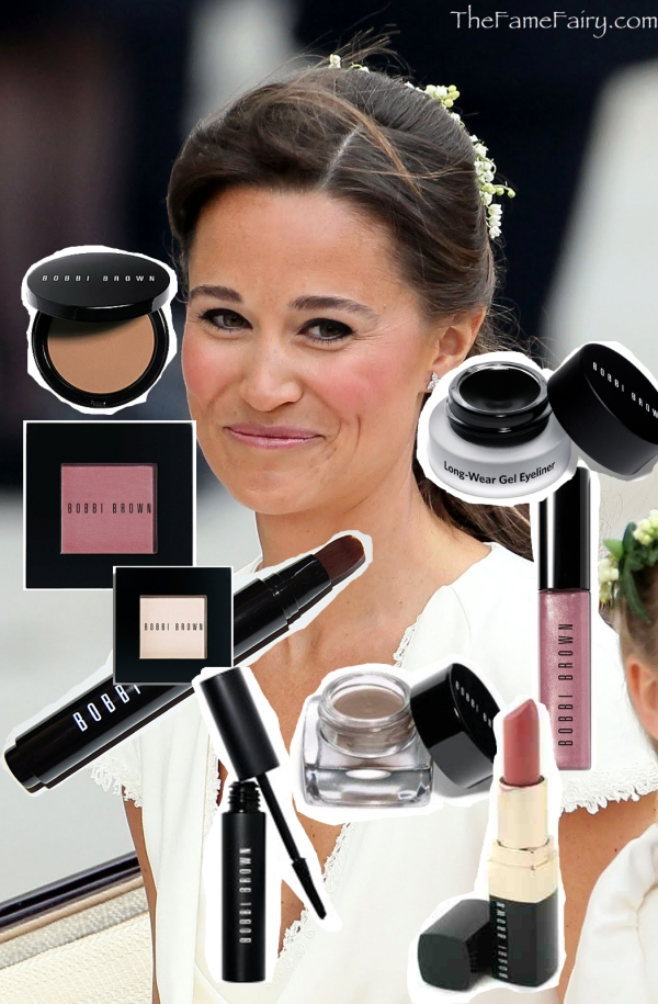 pippa middleton makeup, royal wedding, bobbi brown snad pink,confetti, blondie pink, extreme lash glamour,highlighter pen, black ink gel, ash long wear, bone eyeshadow.jpg