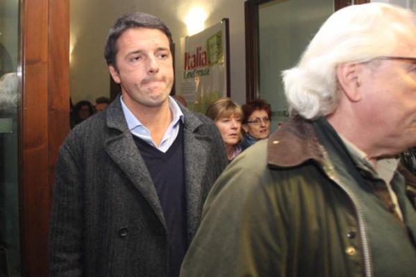 Primarie Pd, Matteo Renzi al Voto
