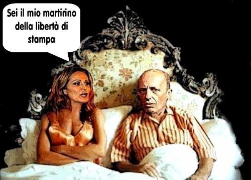 Sallusti+Santanchè+martire