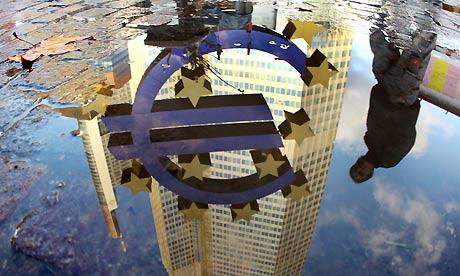 ECB euro sculpture