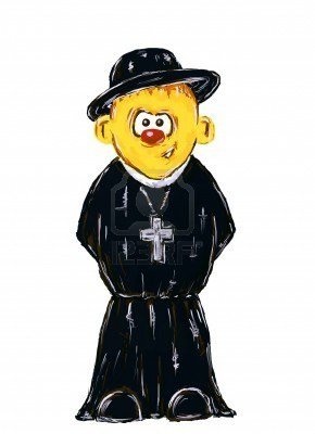 7871554-funny-hand-painted-priest-on-white-background--illustration