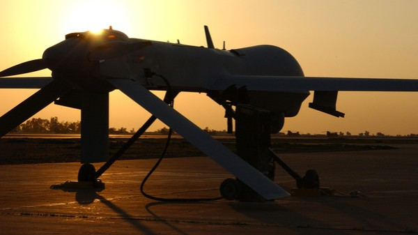 Predator Drone Prepares For Mission