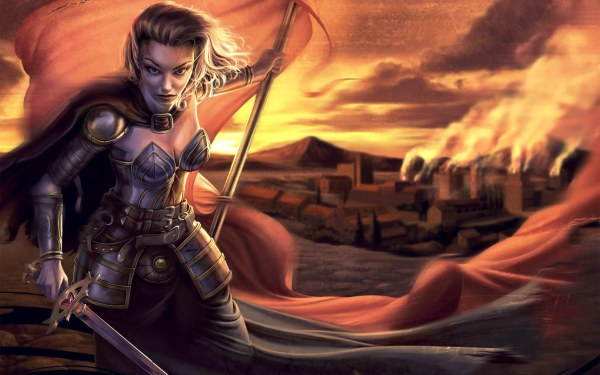 female-warrior