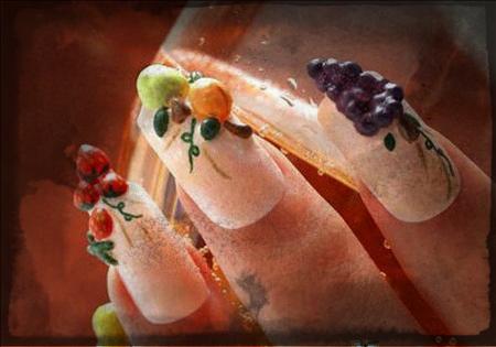 fruits-nail-art