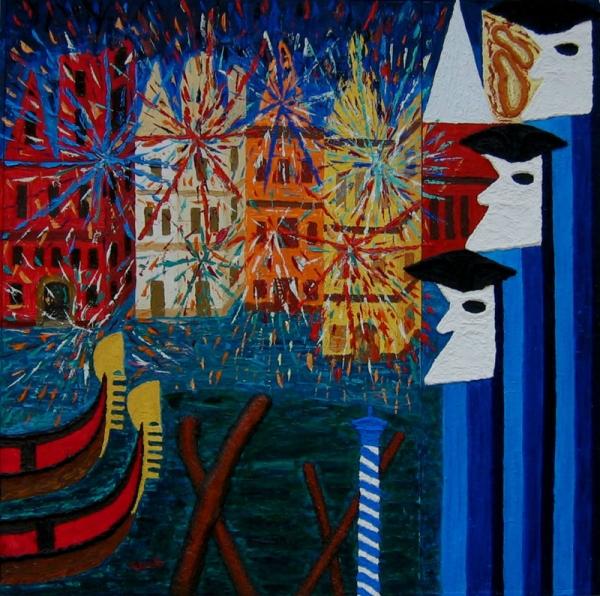 Pittura-Carnevale veneziano