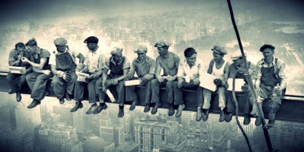pranzo-in-cima-a-un-grattacielo II