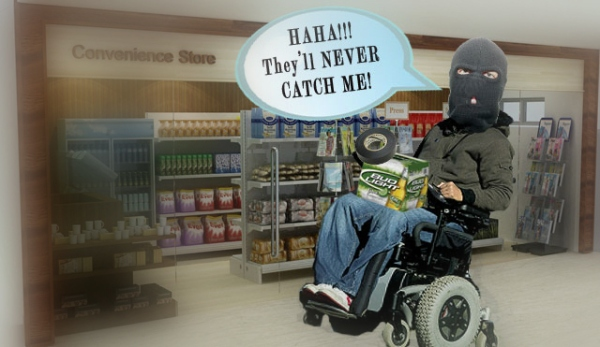 Wheelchair-Robber
