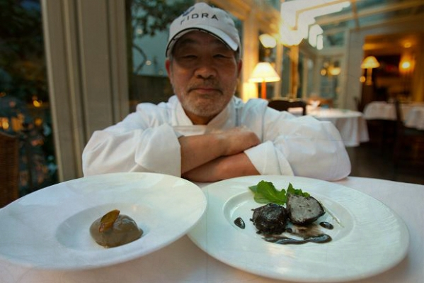 toshio tanabe- ristorante - tokio- fango