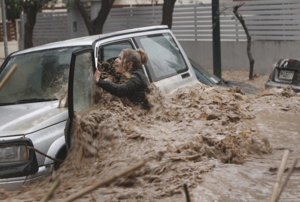alluvione atene