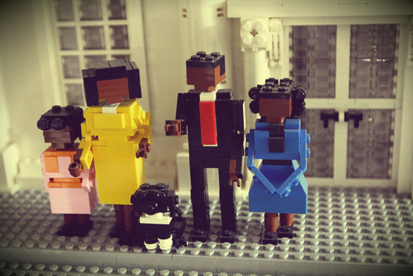 obama's family -lego