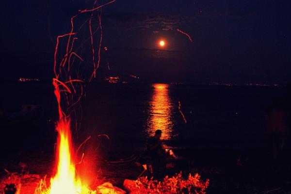la luna e i falo