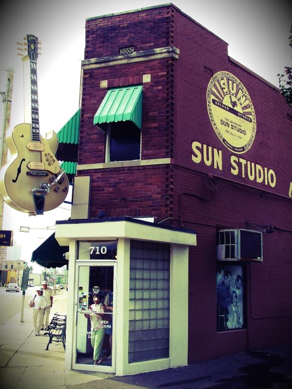 sun studio - memphis- elvis