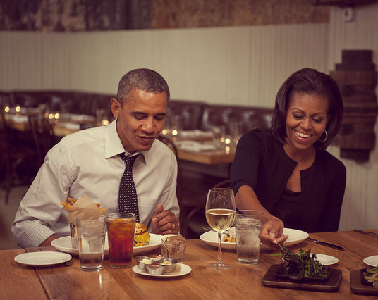 Obama michelle - san valentino