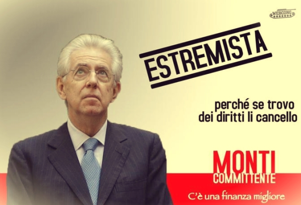monti politica italiana