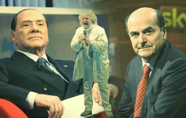 Berlusconi_Grillo_Bersani