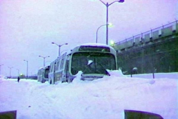 Blizzard of 1999, 2-4 gennaio, 1999