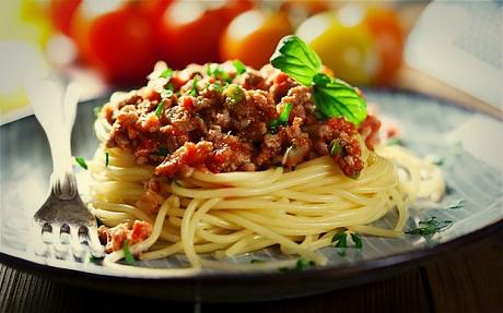 carne di cavallo spaghetti bolognese