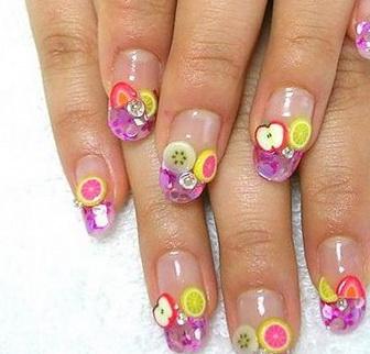 fruits-nail-art