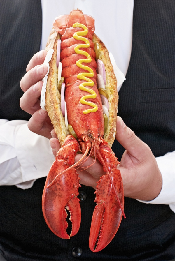 Hot dog de homard : HotLob