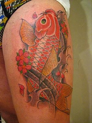 Mondo tattoo la carpa koi tuttacronaca for Carpa giapponese prezzo