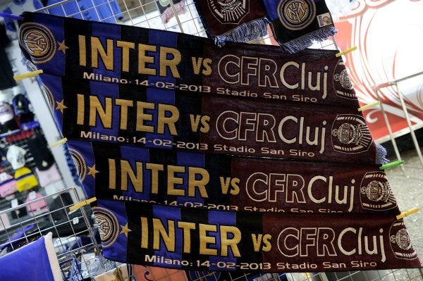FC Internazionale Milano v CFR 1907 Cluj - UEFA Europa League Round of 32