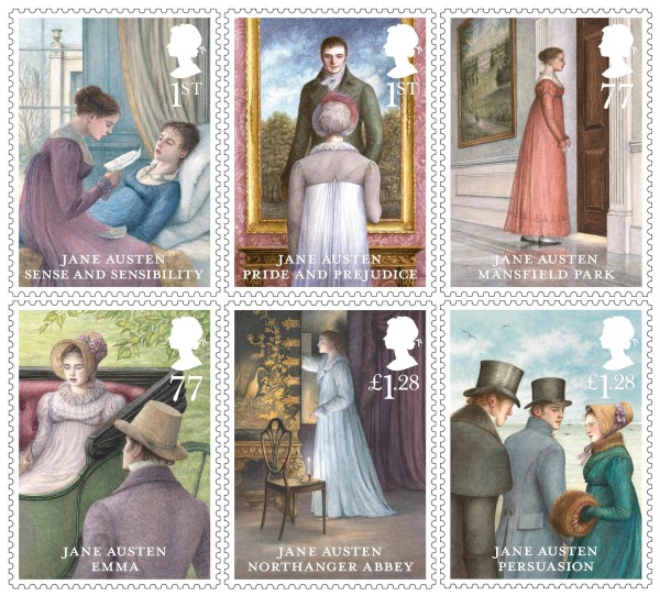 Royal Mail's new stamps