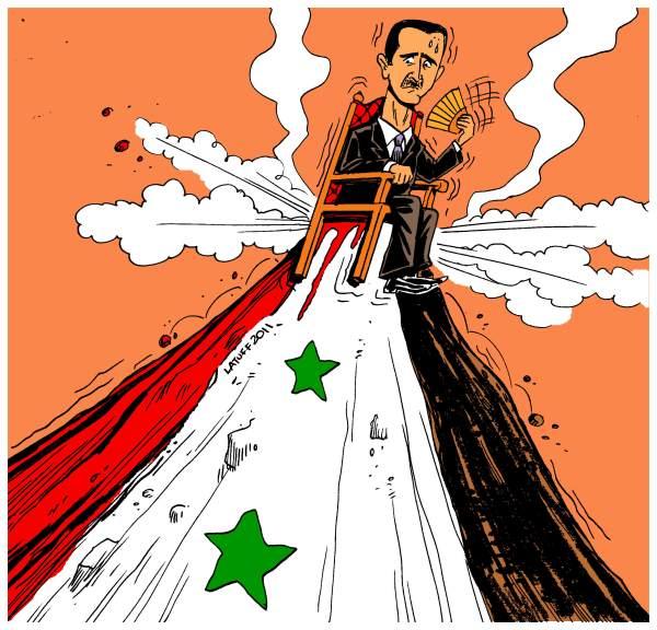 latuff-carlos-Bashar-al-Assad-Syria-unrest