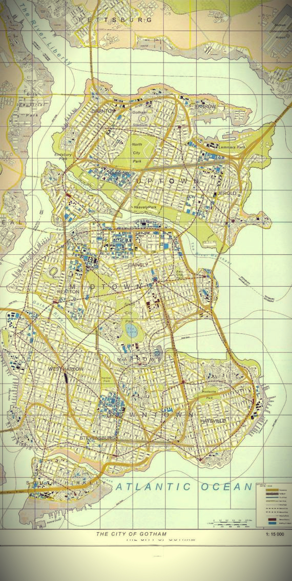 GOTHAM-NOLAN- batman - map