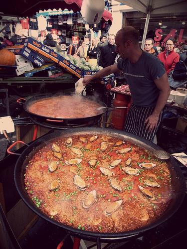Paella-at-Portobello-Road-Market