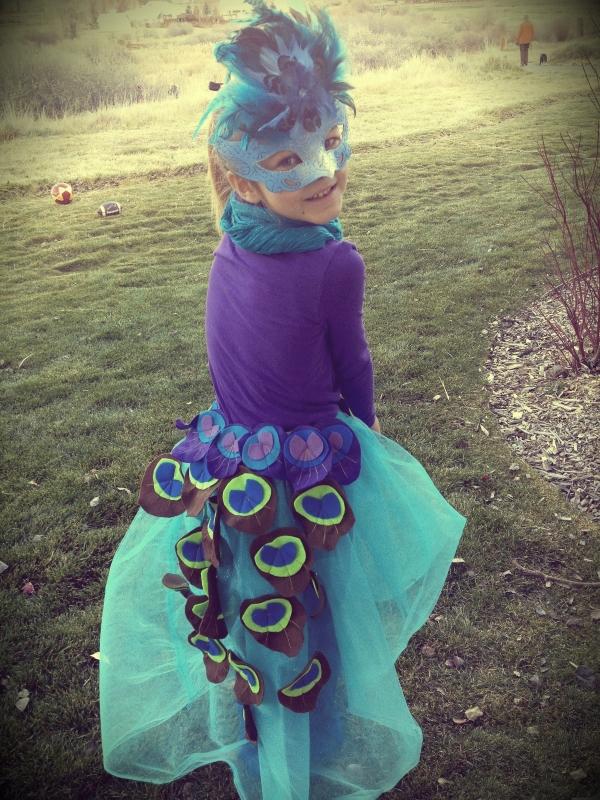 peacock costumen