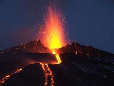 eruzione lampo