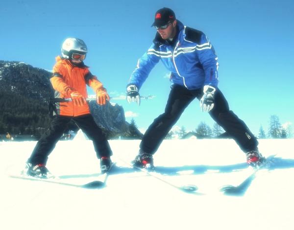 Skilehrer_ein Kind