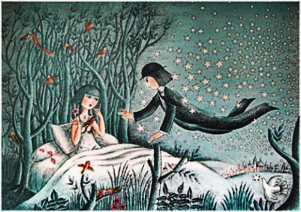 sogno degli innamorati  Peynet