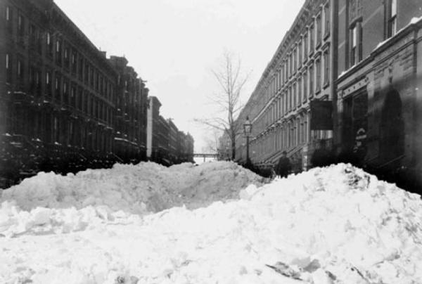 The Great Blizzard, 11-14 febbraio 1899
