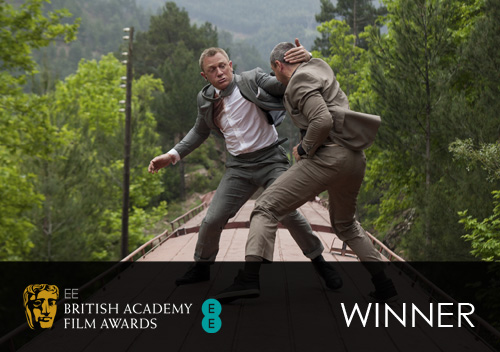 Outstanding British Film Winner: Skyfall
