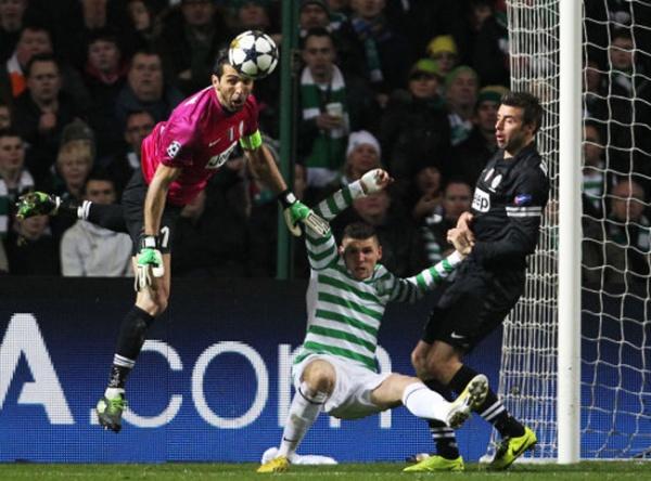 tuttacronaca - Soccer - UEFA Champions League - Round of Sixteen - Celtic v Juventus - Celtic Park