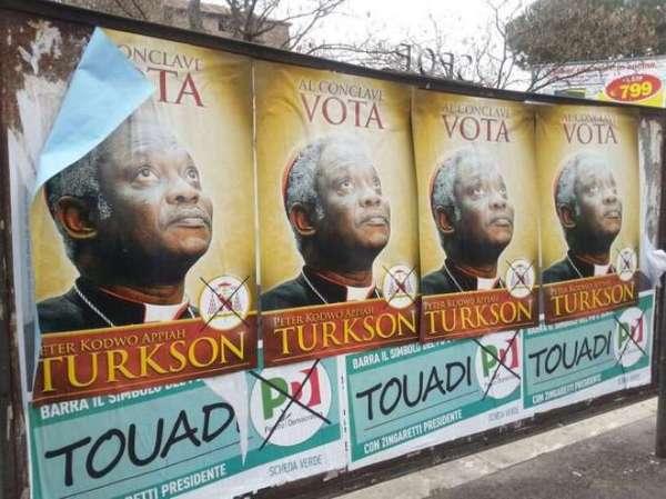 conclave - vota - Peter Kodwo Appiah Turkson - tuttacronaca