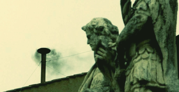 fumata nera- papa-pope- prima- tuttacronaca