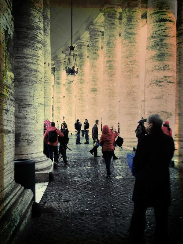 colonnato, san pietro, conclave- scola-tuttacronaca