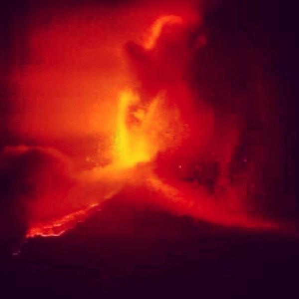 tuttacronaca-eruzione 6 marzo -etna