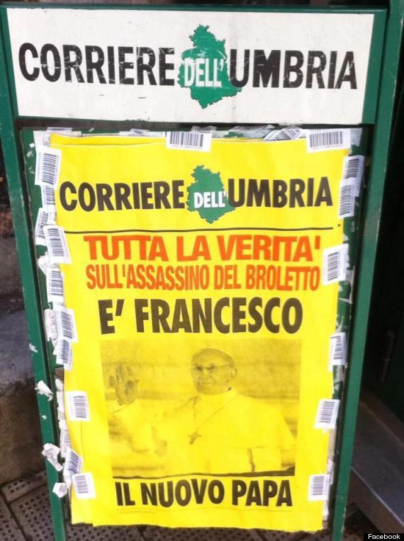 CORRIEREDELLUMBRIA-papa-francesco i -  tuttacronaca