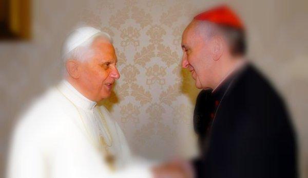 papa-ratzinger-benedetto XVI-francesco-jorge-mario-bergoglio-tuttacronaca-telefonata